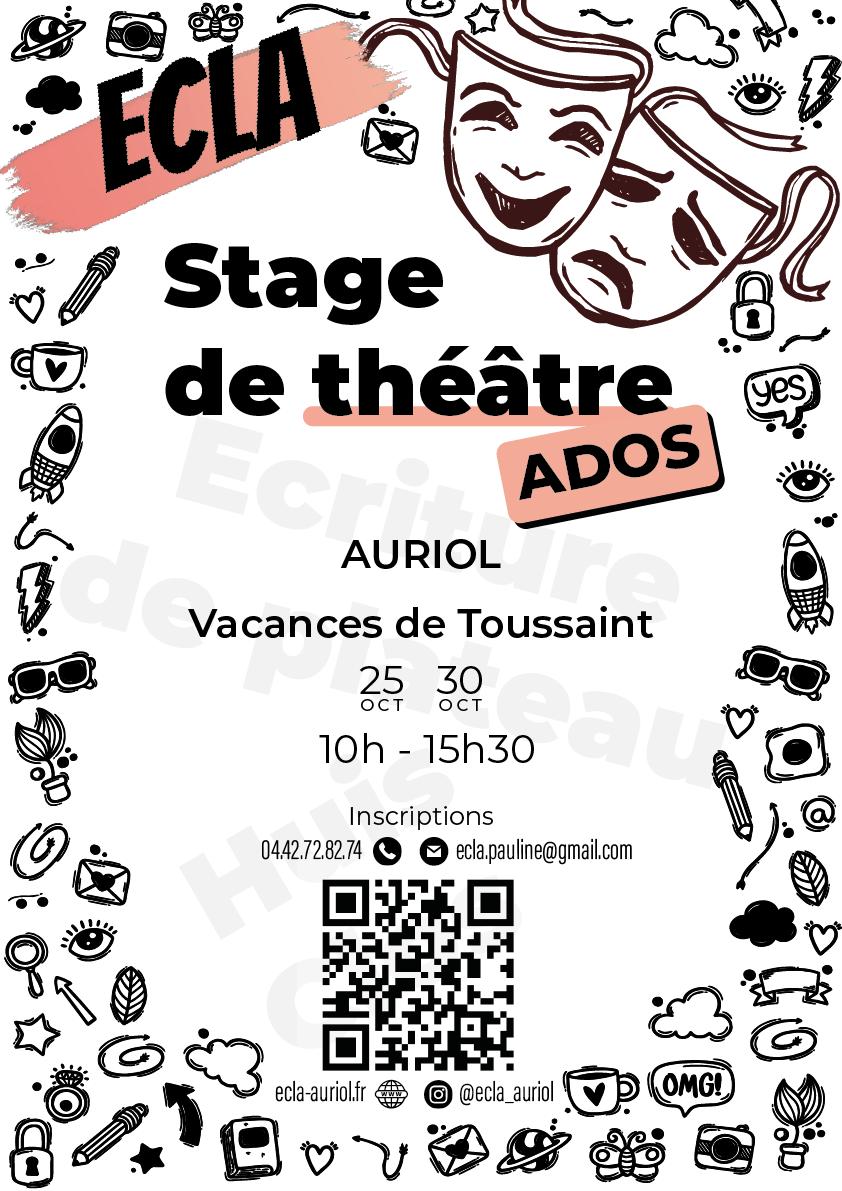 Affiche stage théâtre V3 01 Plan de travail 1